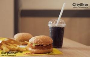Pocket friendly Indian burger meals starting at ₹99/-