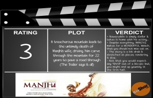 Movie Review - Manjhi
