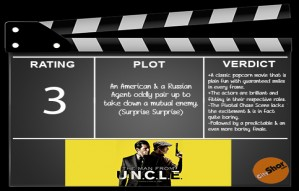 Movie Review - The Man from U.N.C.L.E.