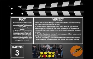 Movie Review- Suicide Squads