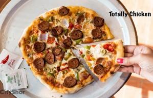 NEW YORK STYLE PIZZAs at TAHINI