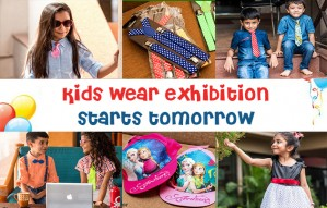 Monsoon Wear Exhibition for kids by KIDDIK starts tomorrow