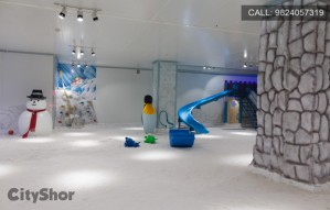 Snow in Ahmedabad? Only at ICEBERG: Snow World