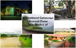 4 Weekend Getaways around Pune in a Radius of 50 kms!