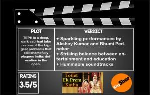 #MovieReview : Toilet Ek Prem Katha