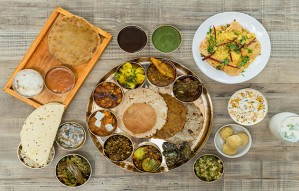 The Maha-Gujarat Thali at Namak only on 15-16 August