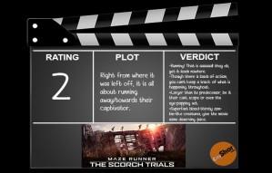 Movie Review: Maze Runner - The Scorch Trials