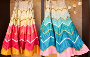 Pick your own combination of a Chaniya Choli with NANNIS