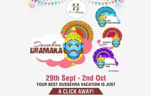 Plan your Dussehra Weekend with Heiwa Heaven Resort!