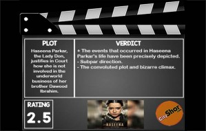 Movie Review - Haseena Parker