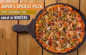 Jaipur's *Spiciest Pizza* That Can Make You Sweat in WINTERS