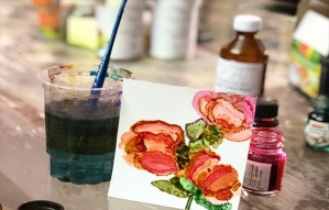 This Ink Art Workshop By Kalaneri Academy Helps To Relax