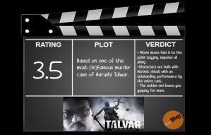 Movie Review - Talvar
