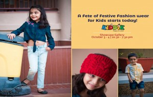 Kiddik- A Fete of Festive Fashion wear for Kids starts today