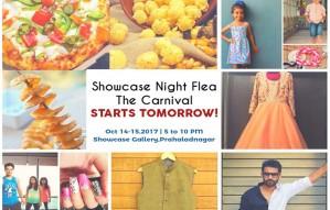 Showcase Night Flea:The Carnival Starts tomorrow!
