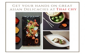 Get your hands on great asian Delicacies at Thai chy