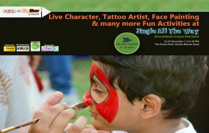 Live Toon Characters, Tattoo painting and loads of fun