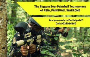 BIGGEST EVER, Paintball Tournament in ASIA!