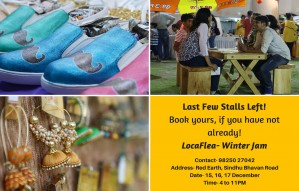 Last Few Stalls Left! Book yours, if you have not already!