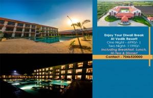 Enjoy Your Diwali Break At Vedik Resort!