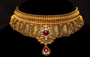 Best of Kundan Temple & Antique Gold Jewellery at DB zaveri