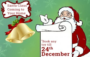 Toycra: Get Santa Claus at your Door this Christmas