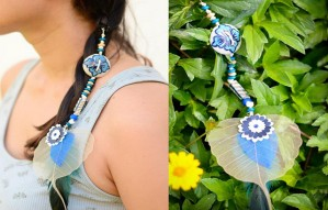 Boho Chic Goan Handcrafted Hair Accessories Only At Levart