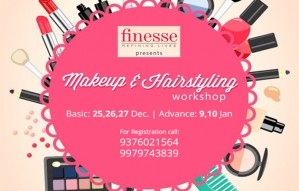 Make-up & Hair-styling Workshop by FINESSE