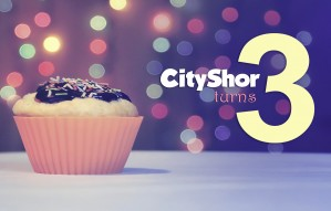 CityShor turns 3!