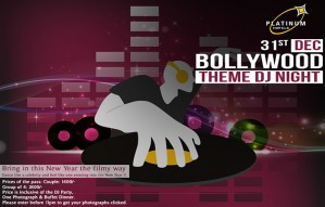Bollywood Theme DJ PARTY at HOTEL PLATINUM INN