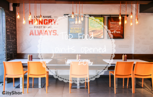 New Food joints that opened in 2016 in Apnu Ahmedabad.