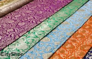 Buy Designer Fabrics @ Wholesale Rates from Arpit Silk India