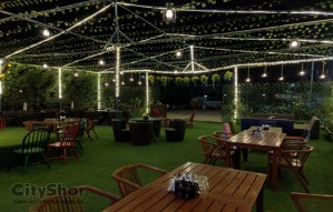 Dine in open under night sky - New place- Haveli the Bistro