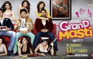 Grand Masti Movie Review