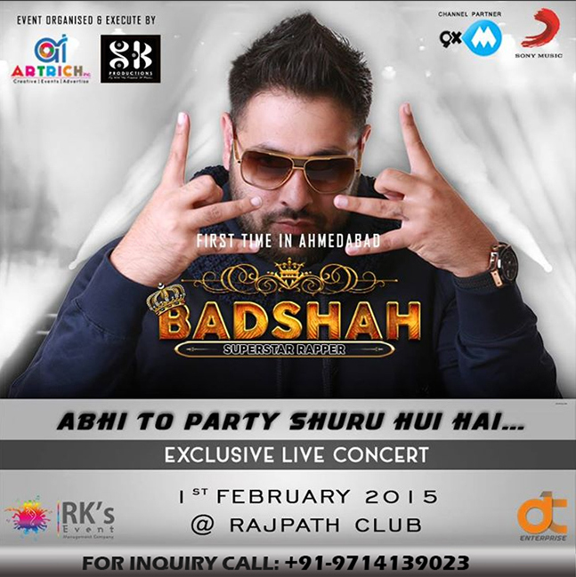 Badshah Live In Concert for the 1st Time in Ahmedabad