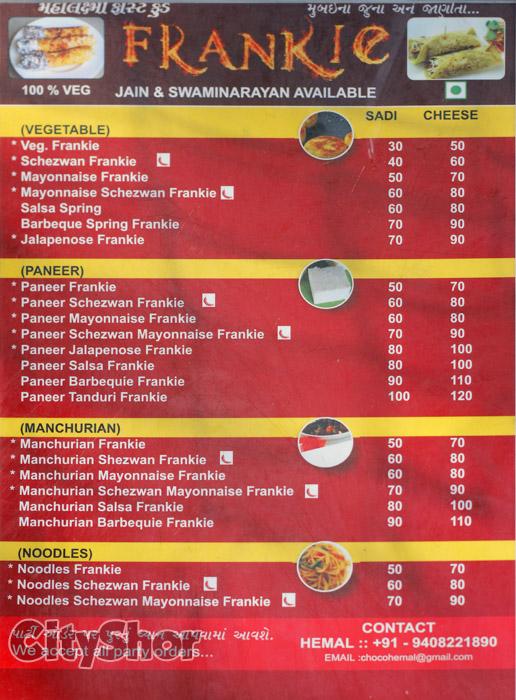 Frankie by Mahalaxmi Food wagon