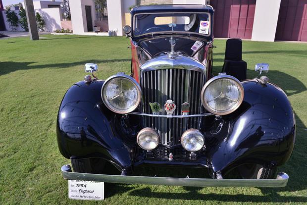 Make & Models at Vintage Car Show