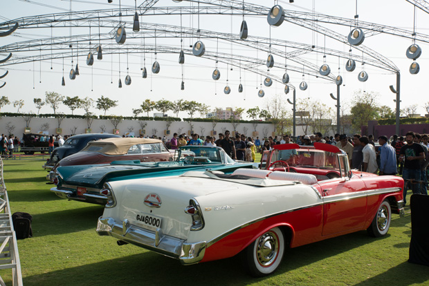 Sheer beauties await you at The VINTAGE CAR SHOW