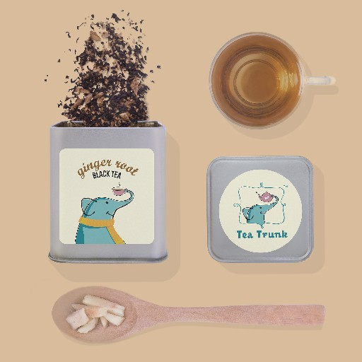 A Tea-licious Gourmet Trove - Tea Trunk