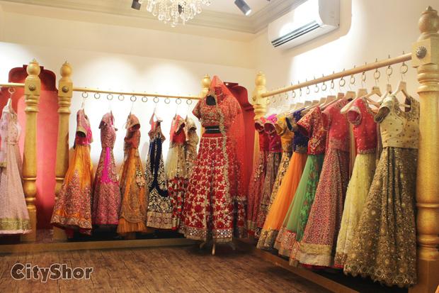 Gorgeous Wear At Aryan S Designer Studio