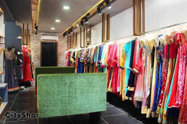 Gorgeous Wear at ARYAN'S DESIGNER STUDIO SG Highway
