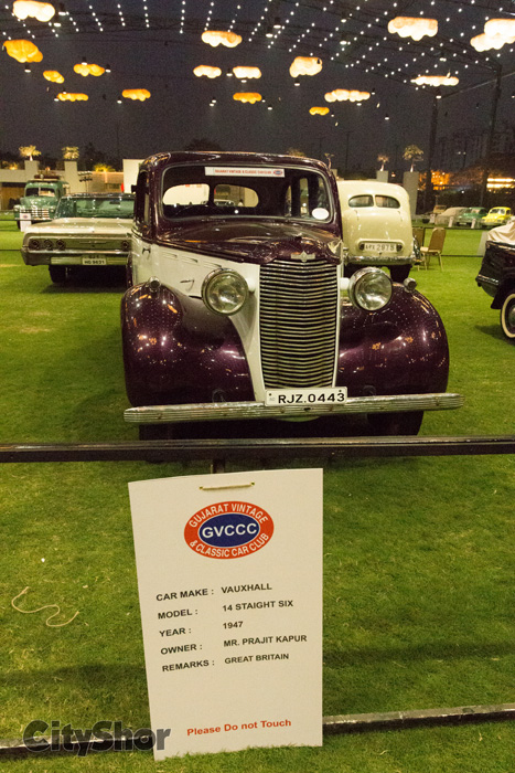The VINTAGE CAR SHOW starts TODAY!