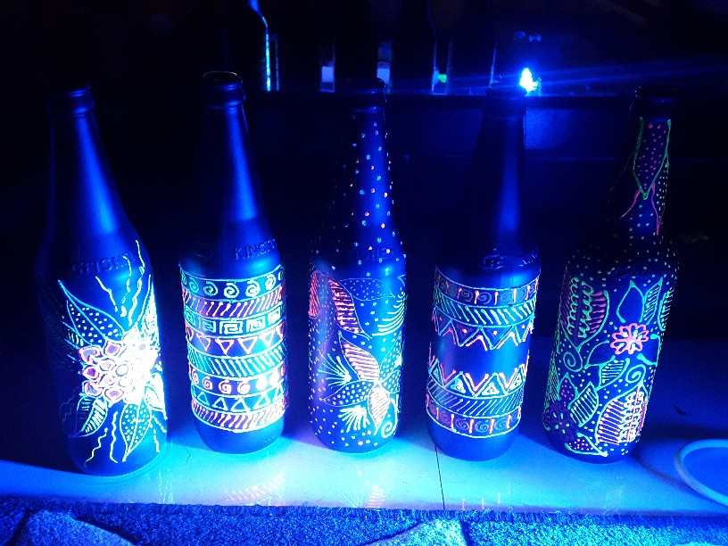 Hand-painted Designer Bottles to Light Up Your Fav Spaces