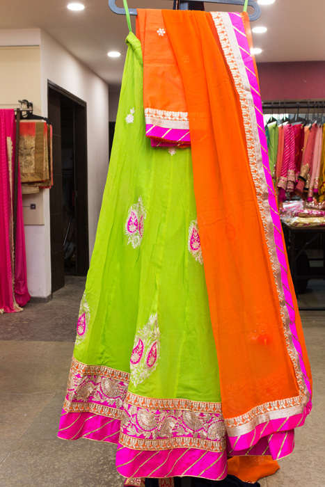 Exclusive wear by the GUJARAT SAREE STORE