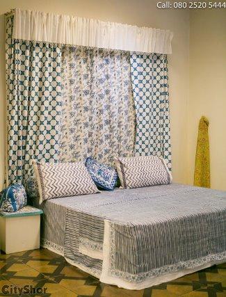 Block Printed Fabrics and Furnishings at Soma