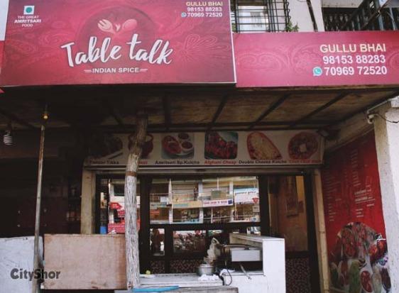Table Talk Restaurant Photos Table And Pillow WeirdmongerCom - Table talk menu