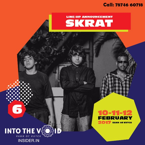 GET SET for INDIA'S FIRST FREE MUSIC FESTIVAL  Into The Void