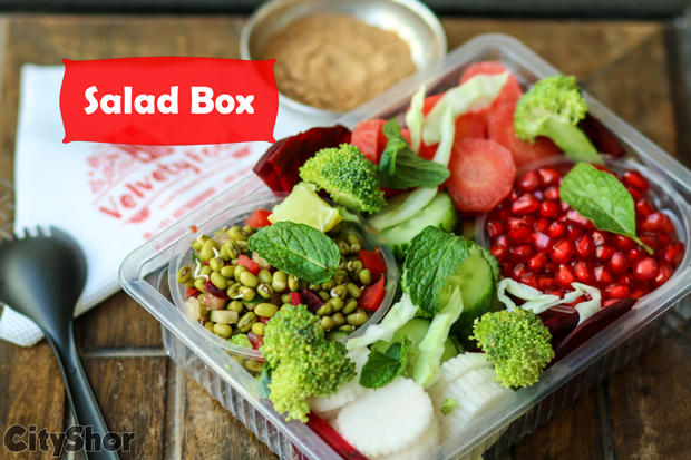 Healthy Fruit & Salad boxes at your doorstep | VELVETY FOOD!