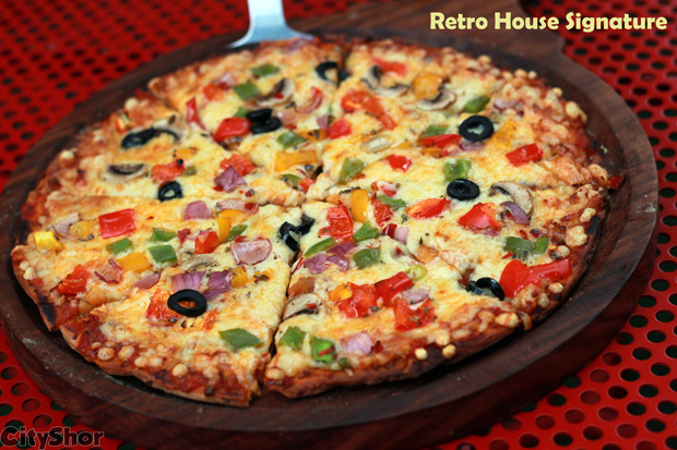 Complimentary Dinner for Two at Retro House!