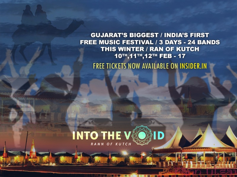 Save the Dates for the 1st Ever Free Music Festival of India